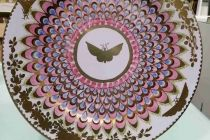 Gold Butterfly - Ashmolean tin plate