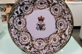 Royal Collection Victoria and Albert tin plate