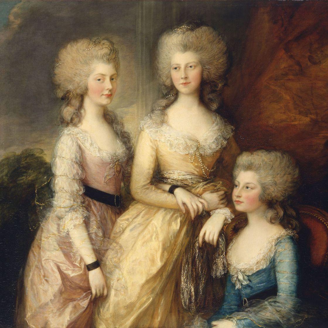 Princesses Charlotte, Augusta and Elisabeth