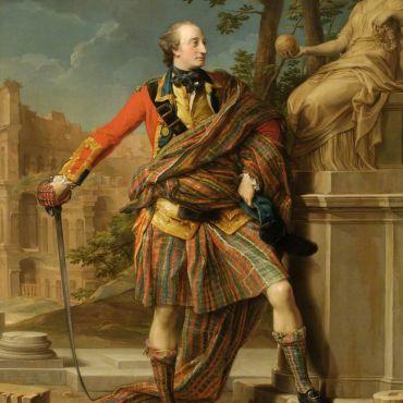 Pompeo Batoni, (Italy, 1708 –1787), portrait of General William Gordon