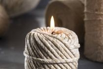 Candle Ball of Wool