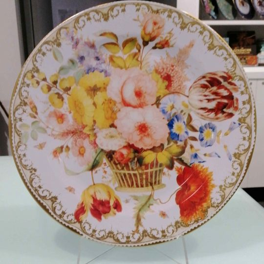 Basket of Flowers Wallace Collection Tin Plate