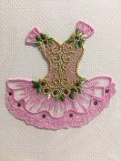 Card (Embroidered): Pink Ballet Tutu