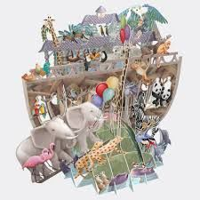 Card (3D Pop up): Noah's Ark