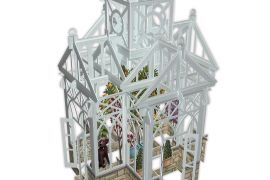 Card (3D Pop up): The Glasshouse