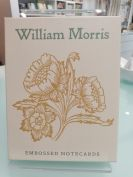 Card Set (Boxed): William Morris Embossed
