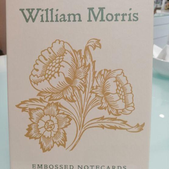 Card Set (Boxed): William Morris Embossed