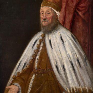 Jacopo TINTORETTO Doge Pietro Loredano
