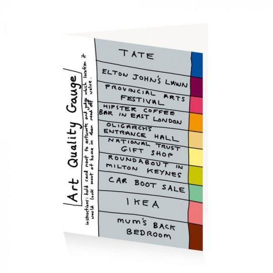 Card Set (Wallet): Grayson Perry Art Quality Gauge