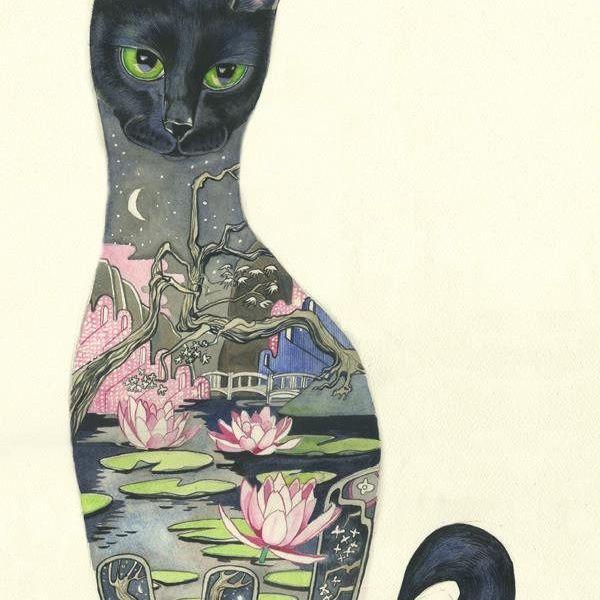Card (DM Collection): Black Cat