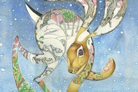 Card (DM Collection): Hare in the Snow