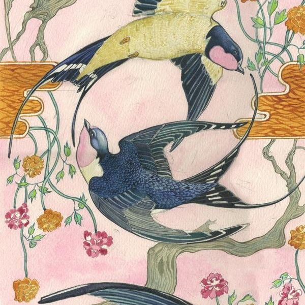 Card (DM Collection): Swallows