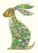 Card (DM Collection): Hare in a Meadow