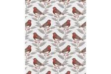 Tea Towel (Thornback & Peel): Robin & Holly