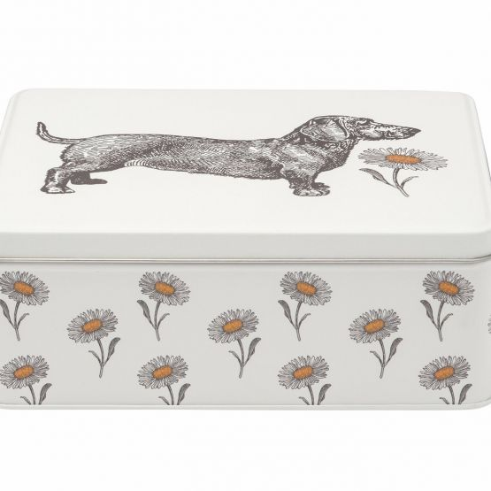 Tin: Thornback and Peel Dog and Daisy Biscuit Tin