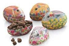 Tin: New Rabbit Shape Assorted Egg Tin