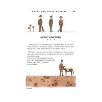 Tea Towel (Red Tractor Designs): ANZAC Biscuits