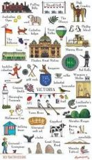 Tea Towel (Red Tractor Designs): This is Victoria