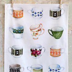 Tea Towel (Lucy King): Tea Party