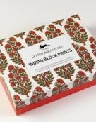 Letter Writing Set: Indian Block Prints