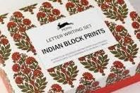 Letter Writing Set: Indian Block Prints