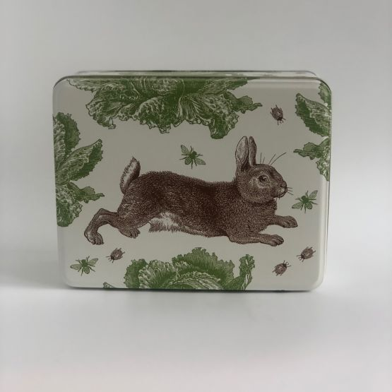 Rabbit and Cabbage Tin
