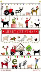 Rodriquez Tea Towel - The Xmas Parade