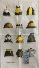 Rodriquez Tea Towel - Xmas Puddings
