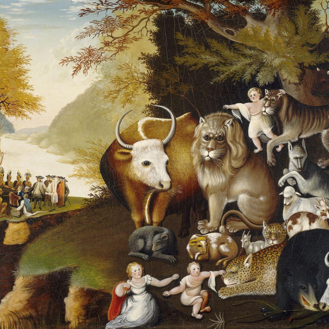 Edward Hicks The Peaceable Kingdom 1826