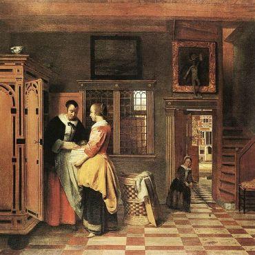 651px-Pieter_de_Hooch_-_At_the_Linen_Closet_-_WGA11712