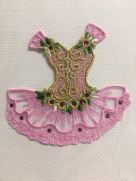 Card (Embroidered): Pink Ballet Tutu