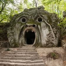 'The Mouth of Hell' at The Sacred Grove of Bomarzo, Italy