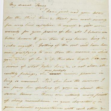 Cassandra Austen to Fanny Knight