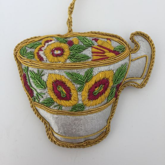 Sequin decoration Minton Cup