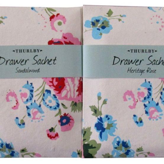 Drawer Sachet (Bloom): Heritage Rose