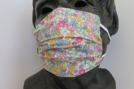 TJC Liberty Face Mask: Flower