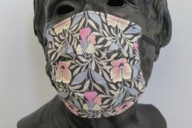 TJC Liberty Face Mask: Harriet's Pansy