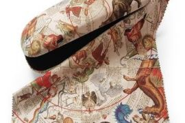 Glasses Case: Celestial Maps - A Painted Image