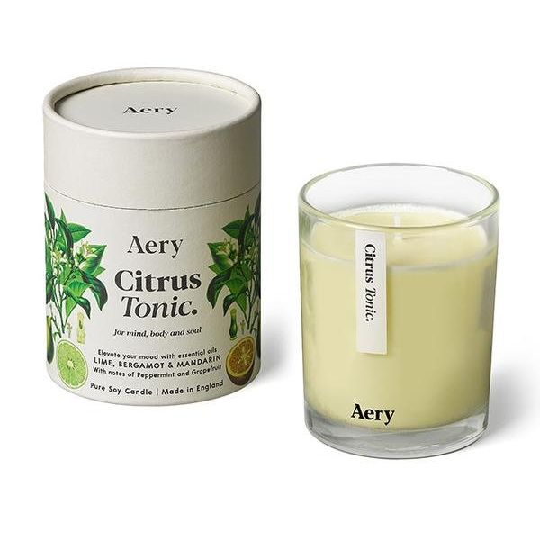 Candle: Botanical Soy Candle - Citrus Tonic