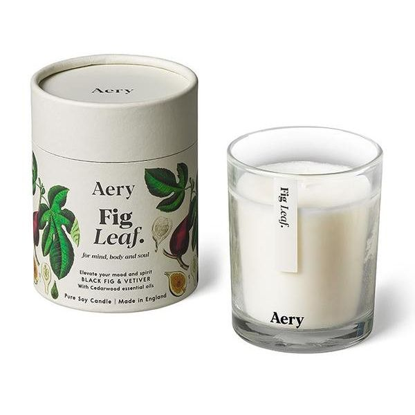 Candle: Botanical Soy Candle - Fig Leaf