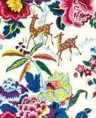 Card (V & A): Chintz Furnishing Fabric
