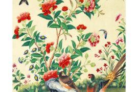 Card (V & A): Study of Flowers & Birds