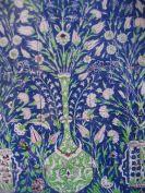 Card (V & A): Panel of Damascus Tiles