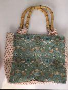 Knitting/Crochet Bag: Liberty Fabric