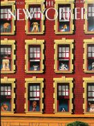Card (The New Yorker Cover Card): Dogs in the Window
