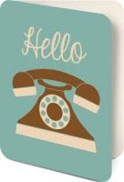 Card Set (Boxed): Telephone - Hello