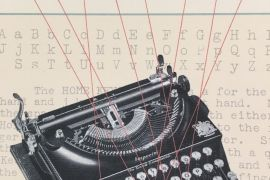 Card: Vintage Typewriter - Thank You