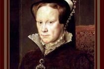 Card (Cath Tate): Mary Tudor