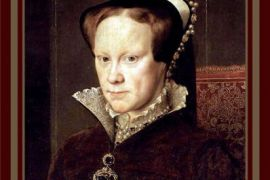 Card (Cath Tate): Mary Tudor