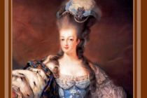 Card (Cath Tate): Marie Antoinette